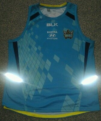 Gold Coast Titans Rugby League Vest Shirt size L Large