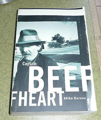 Captain Beefheart Softback Book By Mike Barnes 2000 Edition FREE POSTAGE