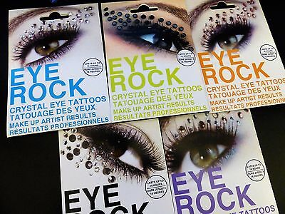 Eye Rock Crystal Jewel Rhinestone Glitter Face Eye Brow Shadow Sticker Face Gems