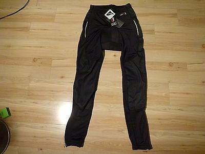 Womens black Crane Cycling trousers Size 8-10