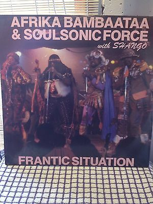 Africa Bambaataa & The Soulsonic Force Frantic Situation