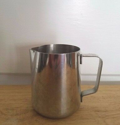 VGUC! Update 12oz. stainless steel Frothing Pitcher. milk frother, espresso