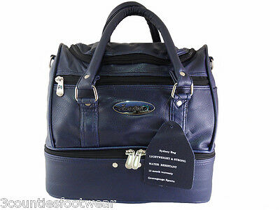 Henselite  Sydney Bowls Bag Strong Durable Free P&p - Navy