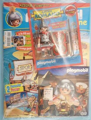 playmobil Magazine 04/2016 +Legionario Tribuno limited ed figure +DVD - sealed