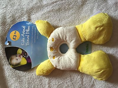 Brand New Childs Animal Travel Pillow,very Comfortable
