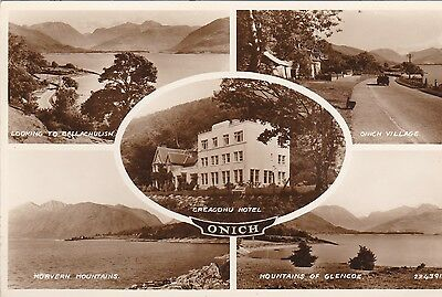 Vintage Postcard from Onich