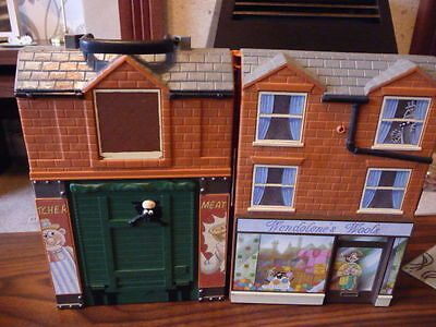 Wallace & Gromit-Wendolene's Wools Playhouse and 2 figurines