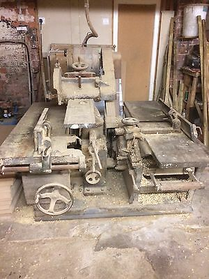 Cooksley Planer Thicknesser And Saw Woodworking Machine Not Wadkin