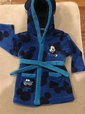 Disney Mickey Mouse Dressing gown 9-12 Months
