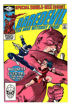 Daredevil 181 Marvel 1982 Death of Elektra Special Double Size Issue