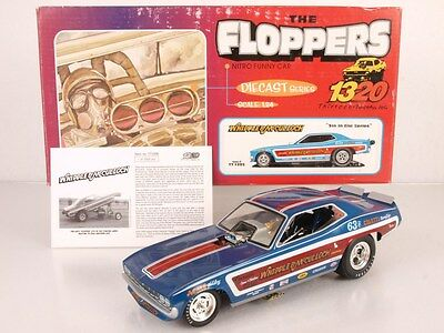 1320 Floppers TT1205 1:24 Diecast Nitro Funny Car Whipple & McCulloch 1 of 2500