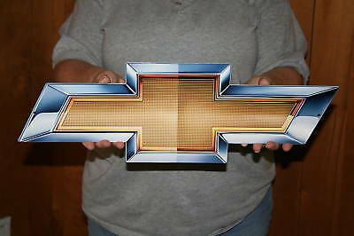 NEW GM CHEVROLET Chevy Bowtie 2010  21x7  - Metal Sign - PhotoSTEEL