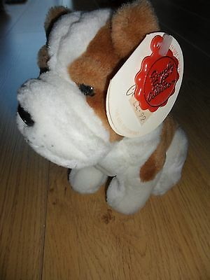 St Bernard puppy soft toy. New with tags.