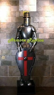 Medieval Wearable Knight Full Suit Of Armor - Full Length 6 Feet & Stand