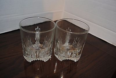 Chivas Regal Highball Glasses 3 1/2 inches tall and 3 1/4 in diameter