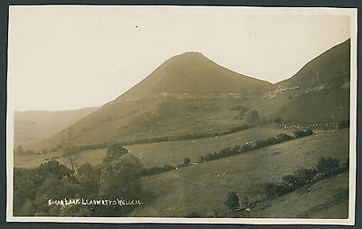 Sugarloaf at Llanwrtyd Wells west of Builth BRECONSHIRE - POWYS. RP card