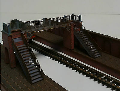 Modelux N Gauge 'Dawlish Warren' Footbridge