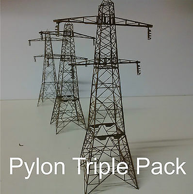 Modelux N Gauge Pylon Triple Pack