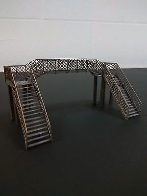 Modelux N Gauge Acle Station Footbridge In Grey