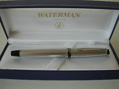 Waterman Expert Silver CT Fountain F