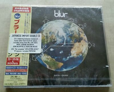 BLUR Bustin Dronin Double cd Japanese Import  SEALED | VERY RARE