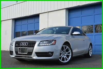2012 Audi A5 Quattro AWD 2.0T Premium Plus Warranty Loaded Save Leather Interior Heated Seats Navigation Bang & Olufson Audio Xenon Lights +More