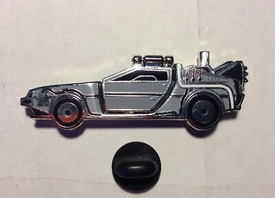 DeLoreon Lapel Pin Back To The Future w/ Opening Door Car Marty McFly Universal