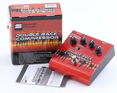 Seymour Duncan SFX-09 Double Back Compressor Guitar Effects Pedal PD-2382