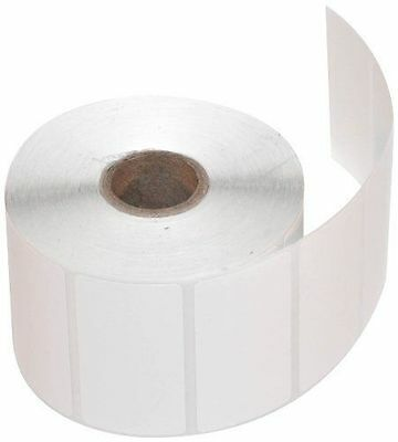 CompuLabel Direct Thermal Labels 2 1/4 x 1 1/4 Inch White Roll Permanent Adhe...