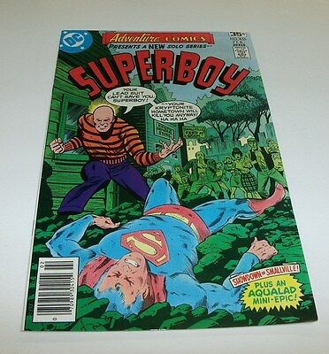 Adventure Comics #455 Original Owner Collection $5 High Grade Bronze Superboy