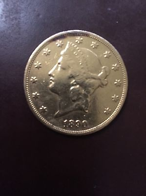 1890-S $20 Liberty gold Coin Double Eagle