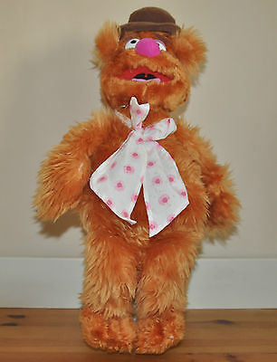 The Muppets Fuzzy Bear Plush Soft Toy Approx 43cm Jim Henson Toy