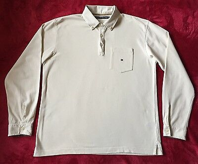 Tommy Hilfiger Mens Polo Neck Long Sleeve Top Size M