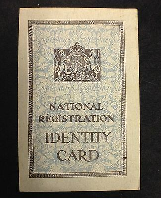 Nationa Registration ID card dated 1943