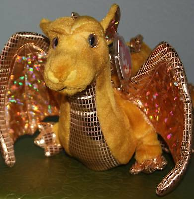 TY Tempest the dragon - Rare, Exclusive & New