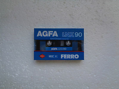 Vintage Audio cassette AGFA LNX 90 * Rare From 1982 * New