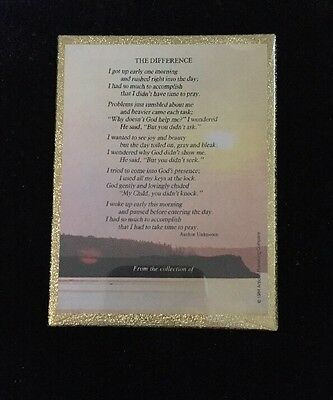 """Vintage ANTIOCH 50 Bookplates """"The Difference Poem"""" New in SEALED BOX"""