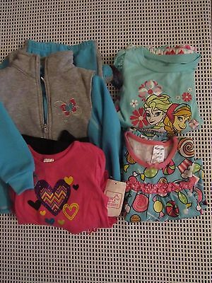 Lot of 4, Baby Girl size 18 Months, 2 Pc outfits, NWT