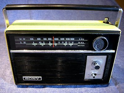Radio Sony Gr-26B. Vintage 1960 Am-Sw Made In Japan