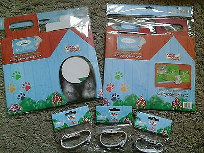 Me To You - Tatty Puppy Collection Carry Box x2, plus  puppy collar x3