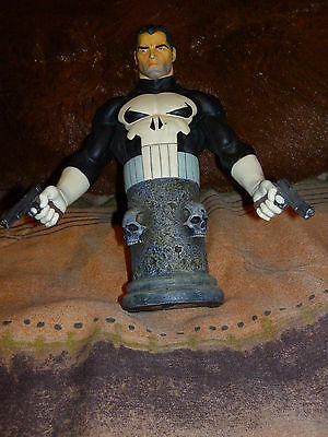 Bowen Designs Marvel Comics THE PUNISHER Mini Bust Statue 1514 of 5000 used