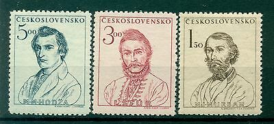 PERSONNAGES - PERSONNAGES CZECHOSLOVAKIA 1948 Slovak Uprising 1848 Centenary