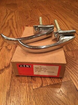 Nors 1947 1948 Ford Exterior Door Handle Pair In Box