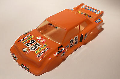 1/32 Scalextric Carrocería Bmw 320 Srs Exin Naranja Made In Spain