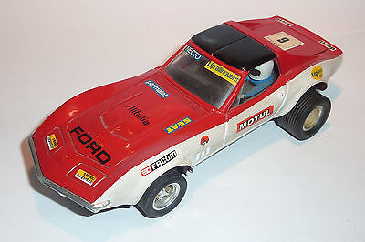 1/32 Scalextric Chevrolet Corvette Dragster Exin Made In Spain Customizado