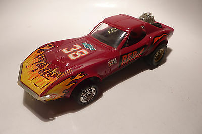 1/32 Scalextric Chevrolet Corvette Dragster Exin Made In Spain Para Restaurar