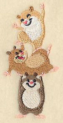 Hamster Totem Embroidery Patch