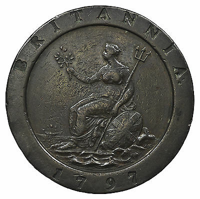 Great Britain, George Iii Twopence, Cartwheel, 1797