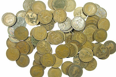 GREAT BRITAIN, GEORGE V HALFPENNY COLLECTION, BULK 468g, OVER 80 COINS, 1911-36