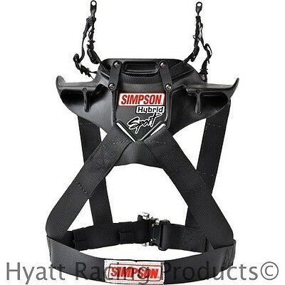 Simpson Hybrid Sport Head & Neck Restraint - SFI Approved / All Sizes